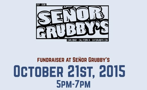 Senor Grubby's October 21st Fundraiser